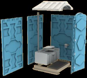 Мобильная туалетная кабина биотуалет Эконом