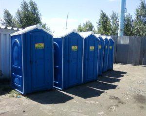 Туалетная кабина биотуалет для стройки